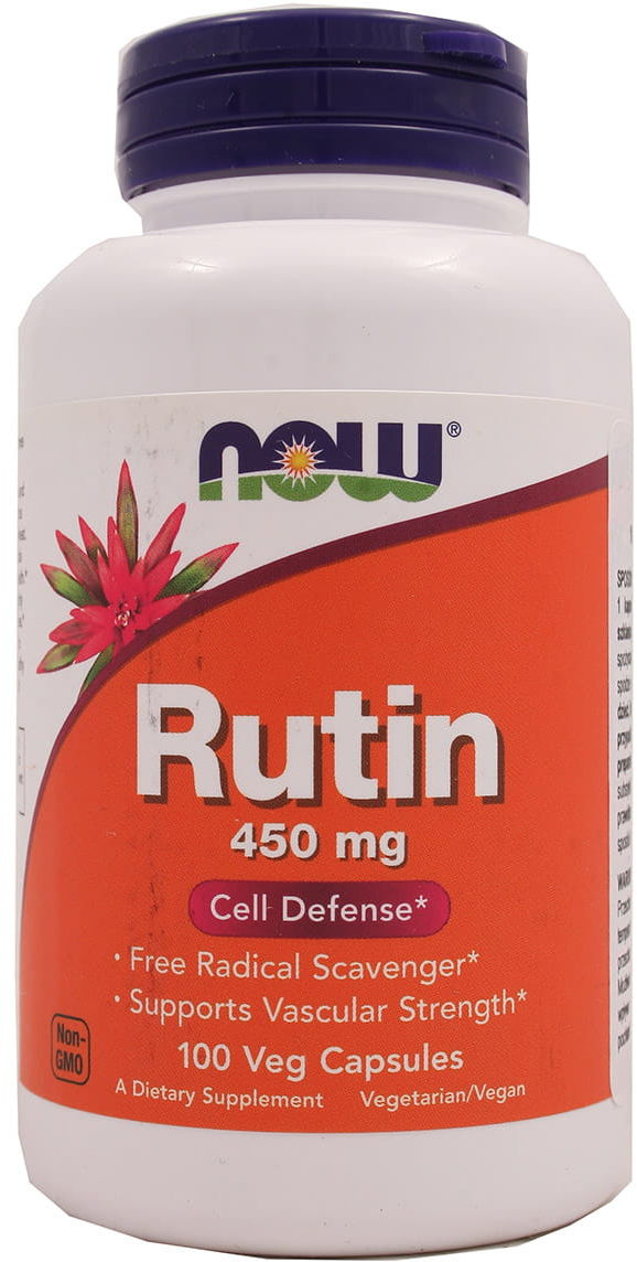 Rutyna Rutin 450mg - Now - 100kaps