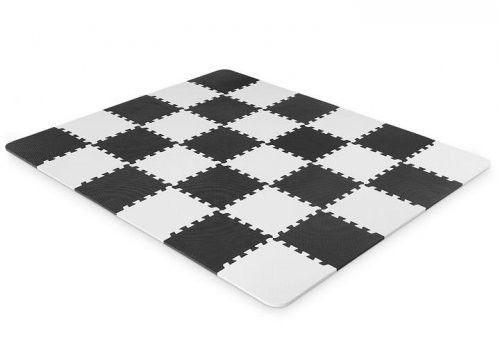 Kinderkraft Mata Piankowa Puzzle LUNO 150x180cm - Black