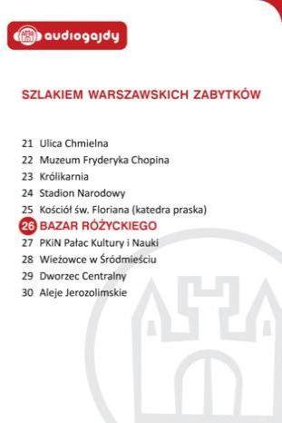 Bazar Różyckiego. Szlakiem warszawskich zabytków - Ebook.