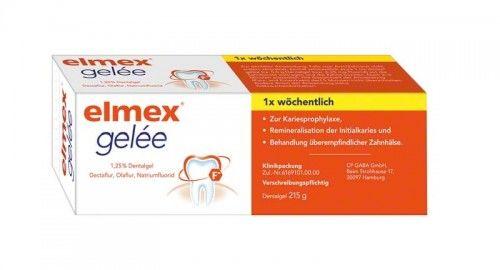 Elmex Żel z aminofluorkiem do fluoryzacji 215g