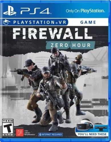 Firewall Zero Hour PS 4 VR Używana