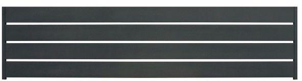 Przęsło poziome GoodHome Neva aluminiowe