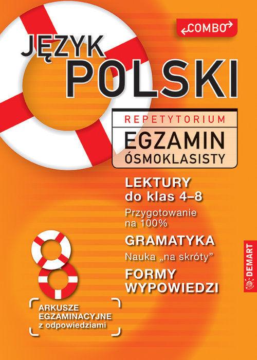 Język polski Repetytorium Egzamin ósmoklasisty ZAKŁADKA DO KSIĄŻEK GRATIS DO KAŻDEGO ZAMÓWIENIA