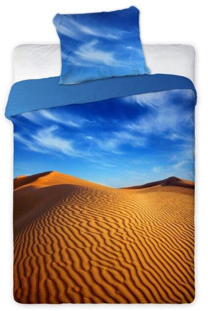 Pościel bawełniana młodzieżowa 160x200 Pustynia Pustynne Klimaty 9314 Faro