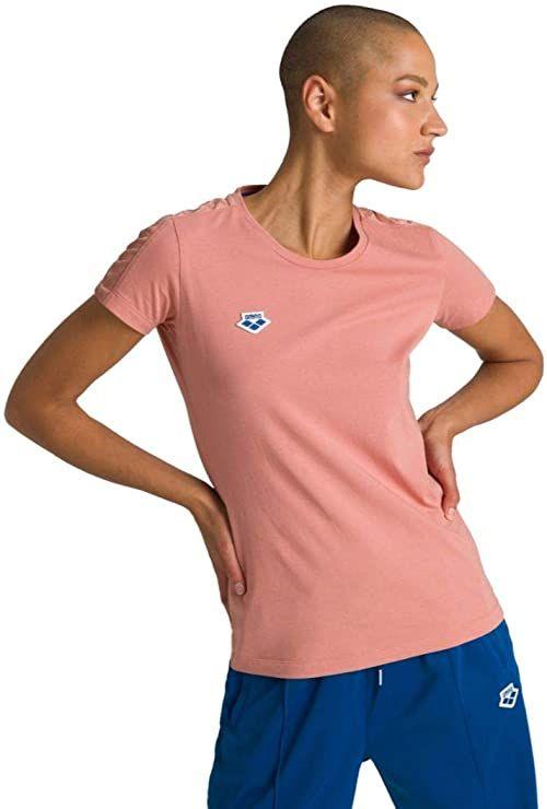 Arena Damska koszulka drużyna Arena damska ikony T-shirt Triple Powder Pink XS