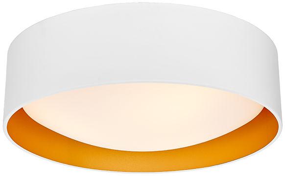 Plafon Vero L 30445301 oprawa biała / złota Kaspa