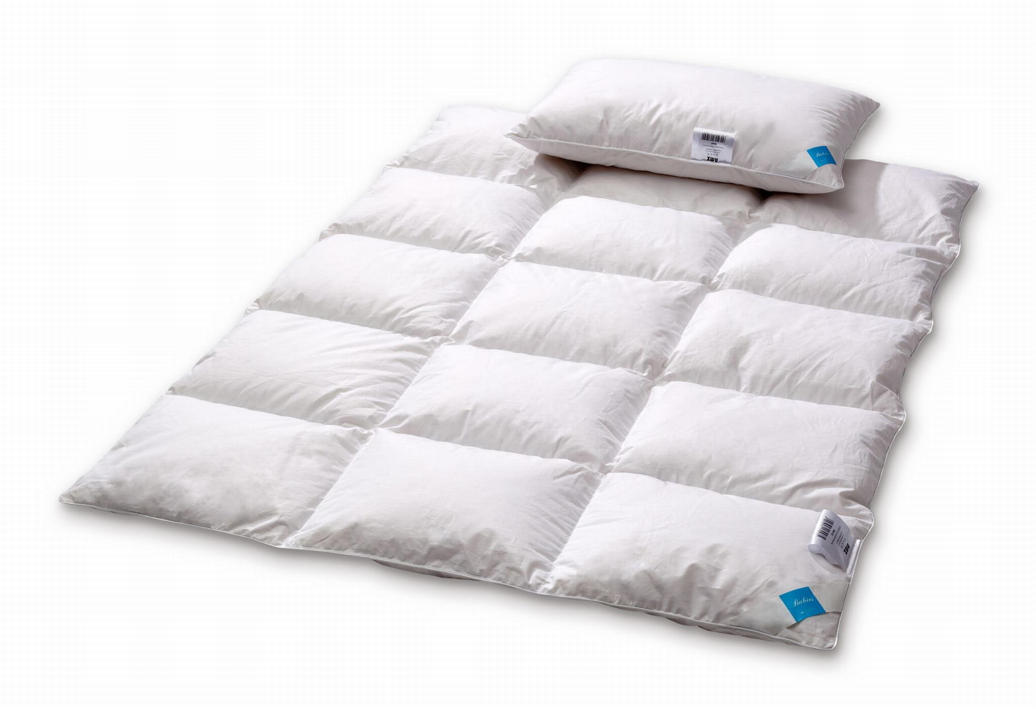 Kołdra dziecięca 100x135 AMZ Premium z poduszką 40x60 puch 100%