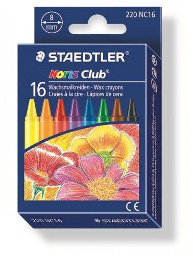 Kredki woskowe STAEDTLER Noris Club (16 kolorów) 220 NC16