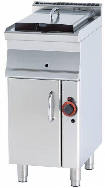 Frytownica pojedyncza gazowa 13L 10500W 400x600x(H)900mm