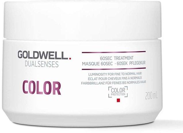 GOLDWELL DUALSENSES - COLOR - 60 sekundowa maska nabłyszczająca do włosów koloryzowanych 200 ml ( NOWA SZATA GRAFICZNA )
