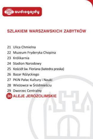 Aleje Jerozolimskie. Szlakiem warszawskich zabytków - Ebook.