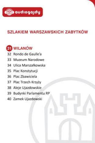 Wilanów. Szlakiem warszawskich zabytków - Ebook.