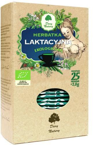 Herbatka laktacyjna BIO (25 x 2 g) Dary Natury