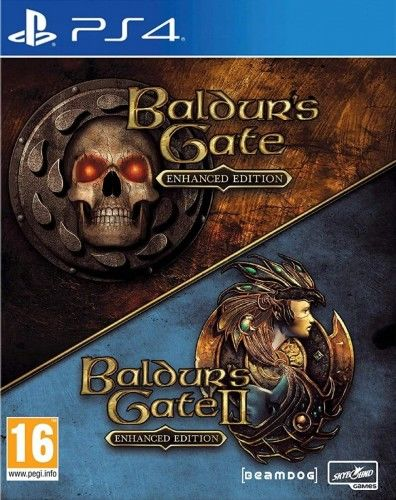 Baldur''s Gate Enhanced Edition PS4 Używana