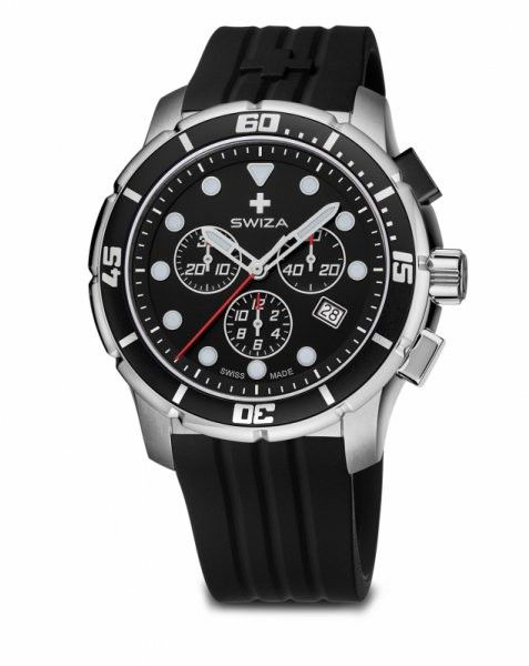 zegarek TETIS Chrono,SST, black, black WAT.0463.1001