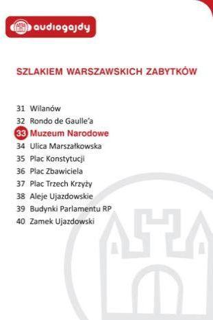Muzeum Narodowe. Szlakiem warszawskich zabytków - Ebook.
