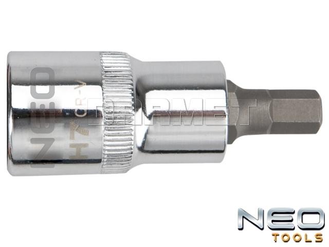 "Nasadka z końcówką sześciokątną 1/2"", H5 x 55MM - NEO TOOLS (08-770)"