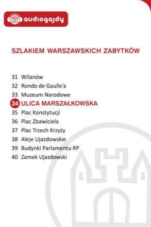 Ulica Marszałkowska. Szlakiem warszawskich zabytków - Ebook.