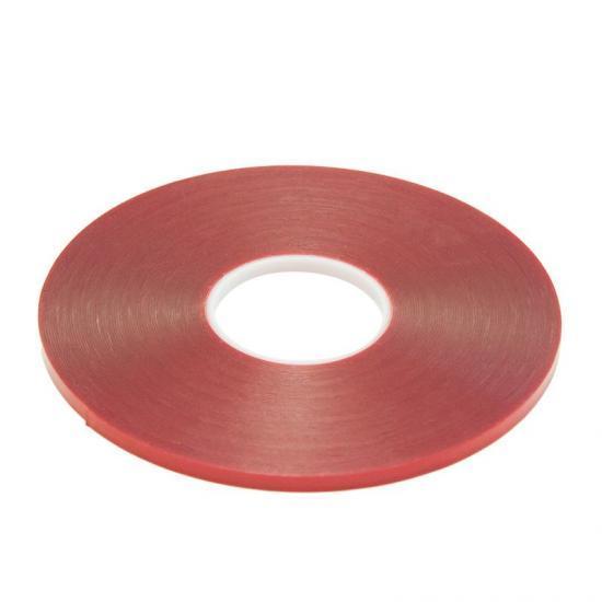 Taśma akrylowa przezroczysta 19mm x 10m gr. 0,5 mm