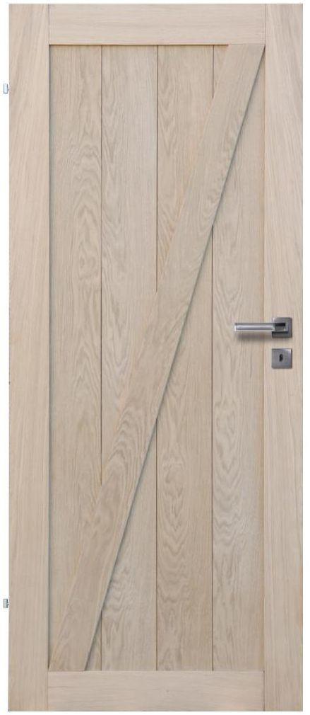 Skrzydło drzwiowe drewniane LOFT Z 80 Lewe RADEX