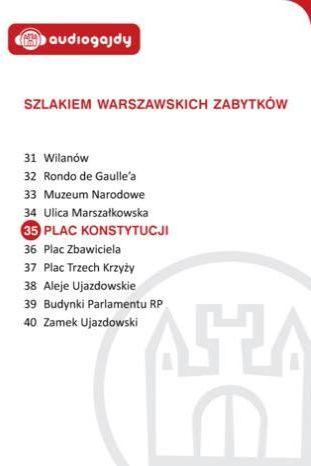 Plac Konstytucji. Szlakiem warszawskich zabytków - Ebook.
