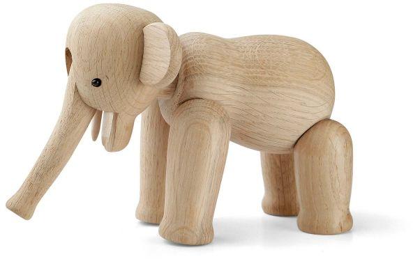 Kay Bojesen ELEPHANT Dekoracja - Figurka Drewniana Słoń - Mini