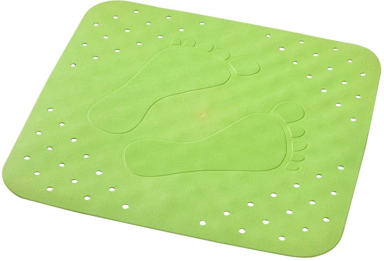 RIDDER 67275-350 mata pod prysznic ok. 54 x 54 cm, płaska podstawa neonowo-zielona