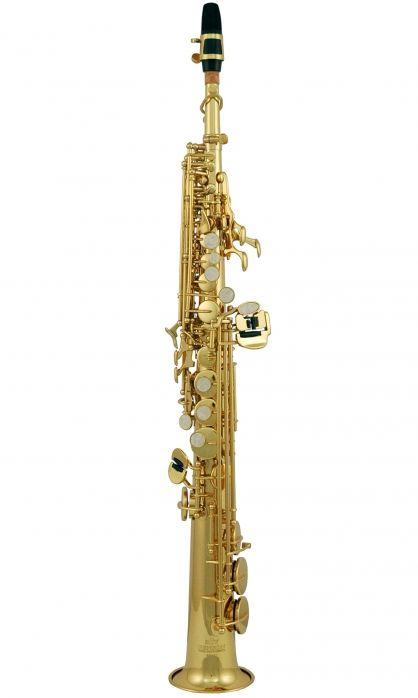 Roy Benson SS-302 saksofon sopranowy, lakierowany (z futerałem)