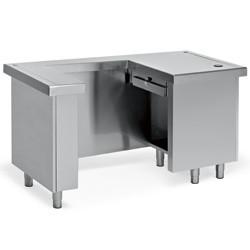 Stół na kasę fiskalną (prawy) 1500x800x(H)900mm
