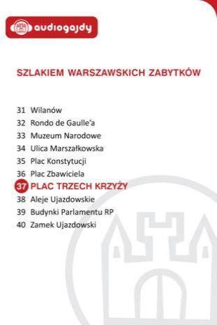Plac Trzech Krzyży. Szlakiem warszawskich zabytków - Ebook.
