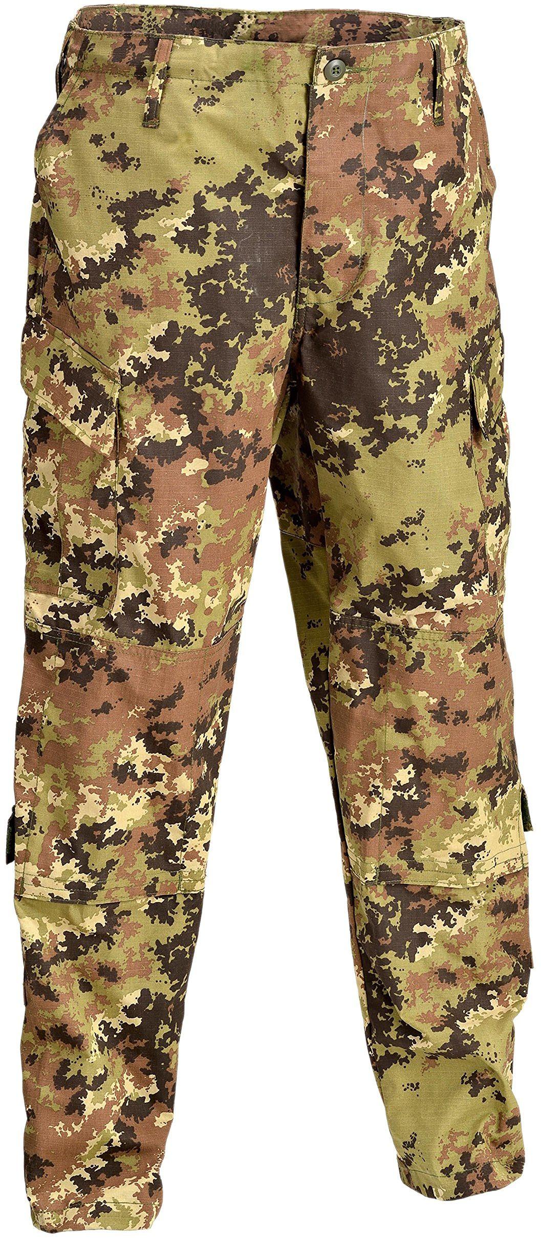 Defcon 5 BDU spodnie taktyczne, D5-1600 wielokolorowa Italian camo S
