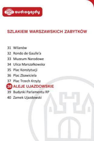 Aleje Ujazdowskie. Szlakiem warszawskich zabytków - Ebook.