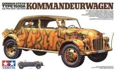 German Steyr Type 1500A Kommandeurwagen