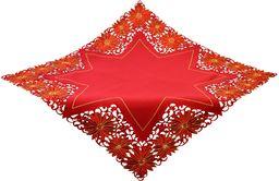 Bellanda Obrus, poliester, czerwony, 100 x 100 cm