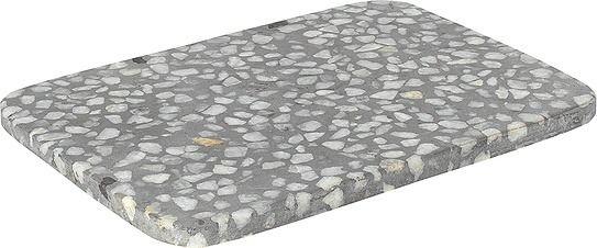 Deska kamienna omeo 15 x 20 cm szara
