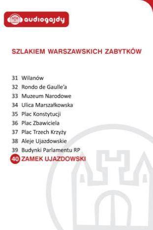 Zamek Ujazdowski. Szlakiem warszawskich zabytków - Ebook.