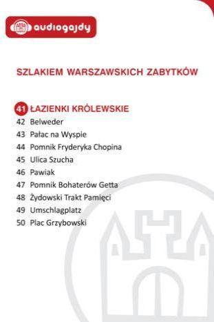 Łazienki Królewskie. Szlakiem warszawskich zabytków - Ebook.