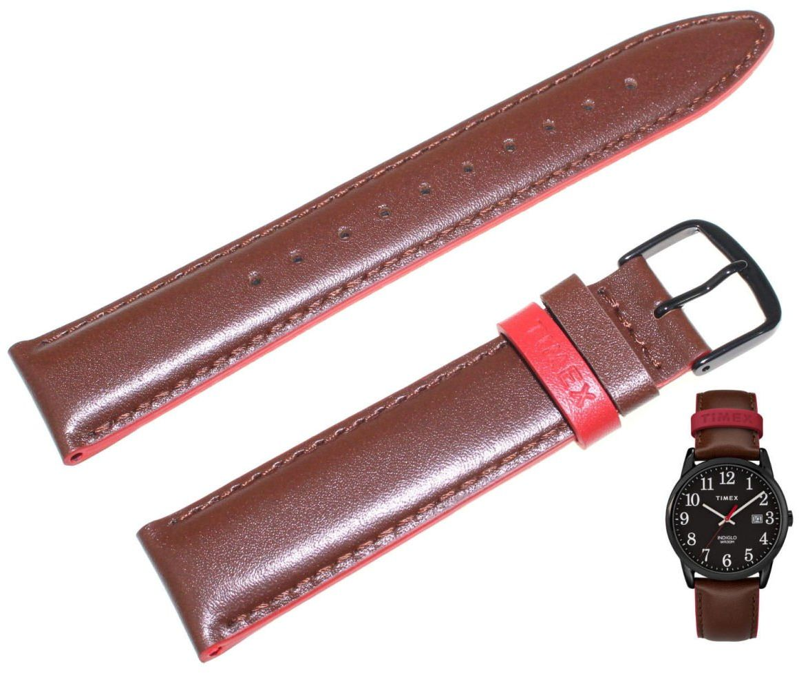 Pasek do zegarka Timex TW2R62300 PW2R62300 20 mm Skóra