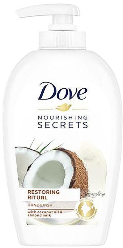 Dove - Nourishing Secrets Restoring Ritual Handwash - Mydło do rąk w płynie - Kokos i Mleko Migdałowe - 250 ml
