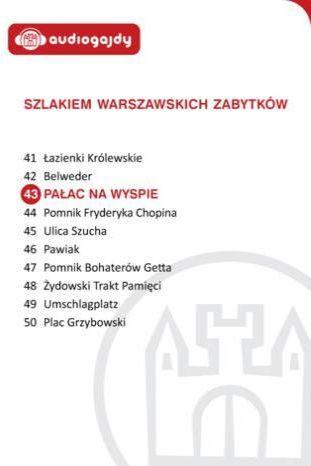 Pałac na wyspie w Łazienkach. Szlakiem warszawskich zabytków - Ebook.