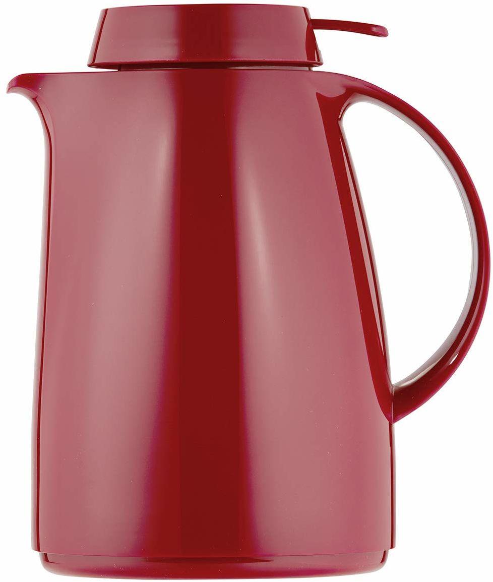 Helios Servitherm termos z tworzywa sztucznego, czerwony, 1 litr