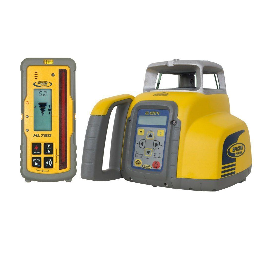 Niwelator laserowy SPECTRA PRECISION GL422N + HL760