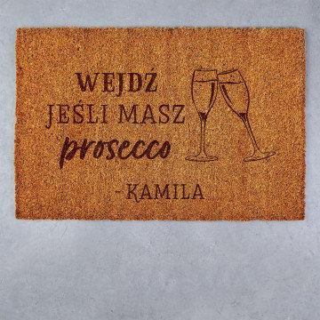 Prosecco - Wycieraczka Kokosowa