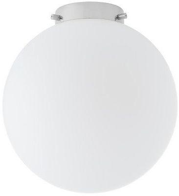Kaspa - plafon alur, chrom/biały