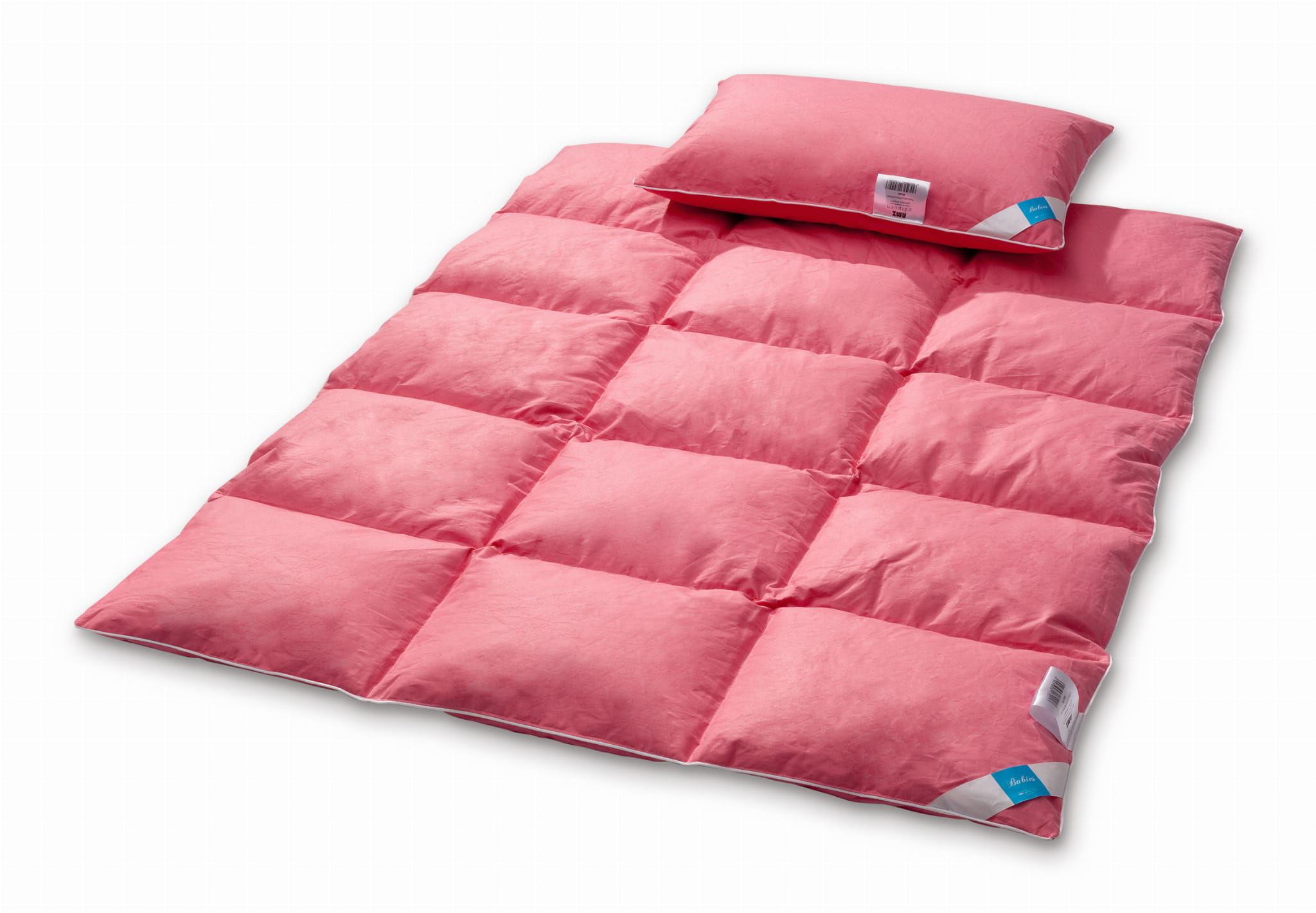 Kołdra dziecięca 90x120 AMZ Półpuch z poduszką 40x60 puch 20%