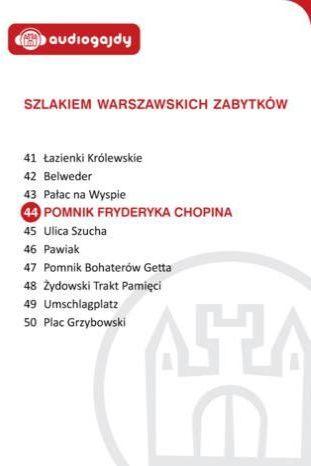 Pomnik Fryderyka Chopina. Szlakiem warszawskich zabytków - Ebook.