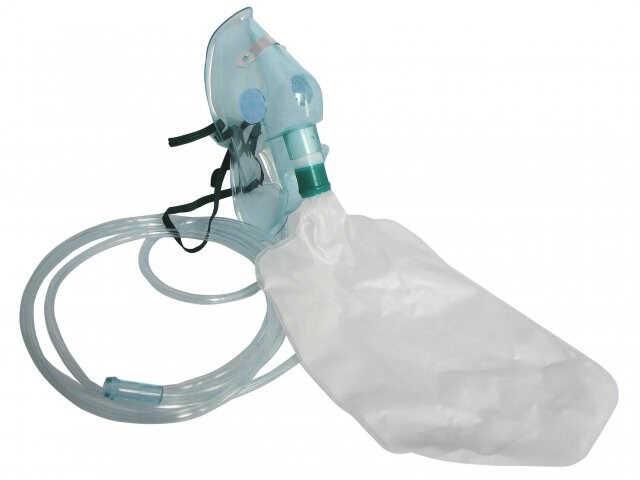 Maska do tlenoterapii wysokimi stężeniami tlenu - dla dorosłych