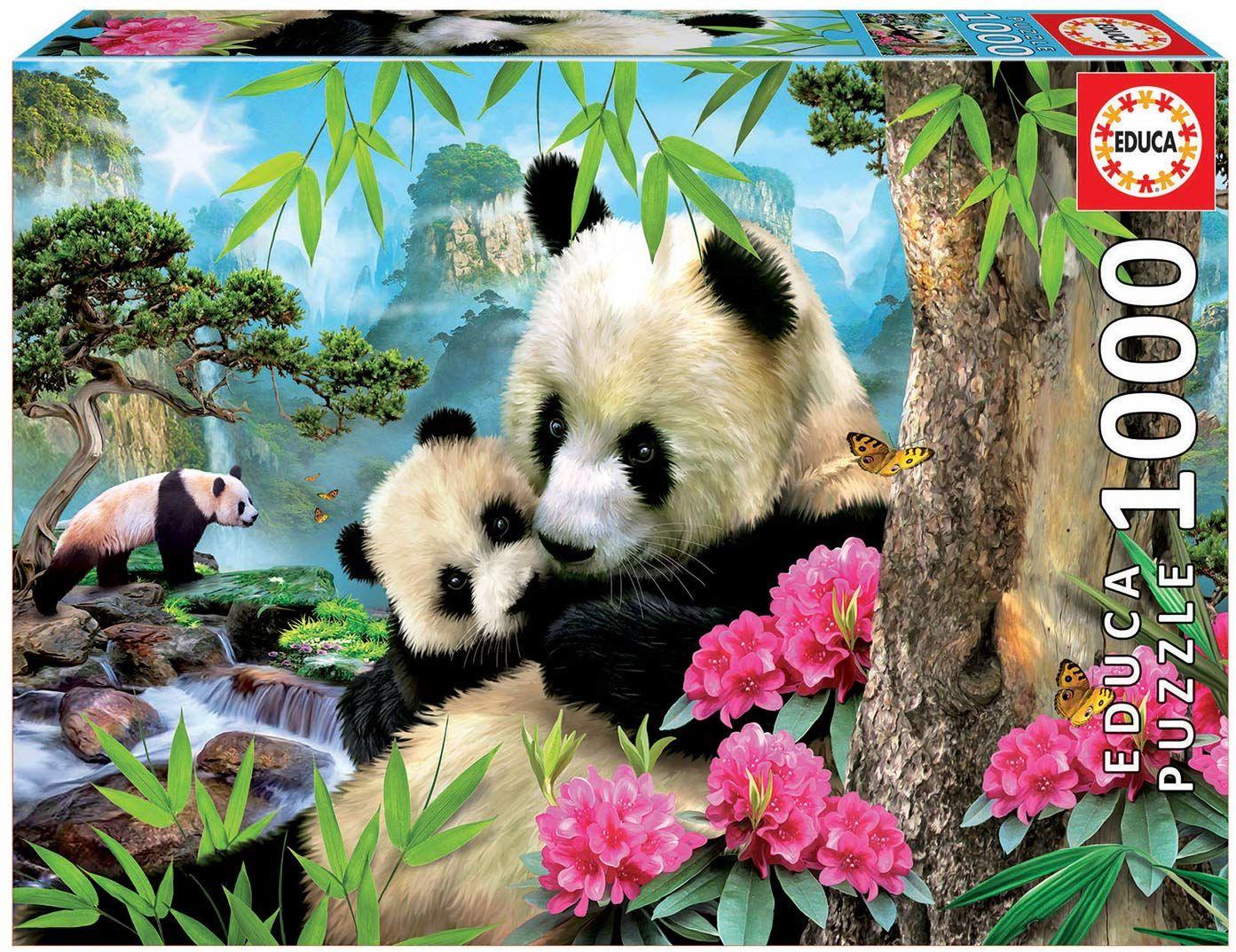 Educa Borras - Puzzle Panda Bear,1000 elementów (17995)