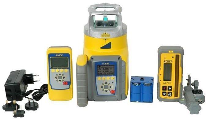Niwelator Laserowy Spectra Precision GL622N + RC602N + HL760