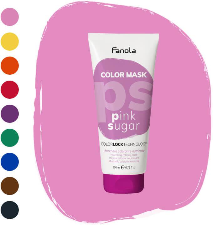 Fanola Color Maska koloryzująca do włosów 200ml (9 kolorów)